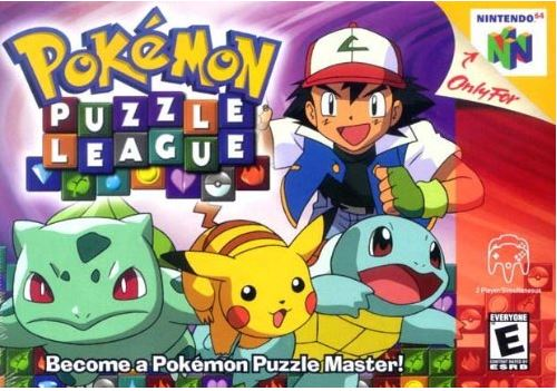 Pokemon Puzzle League Game